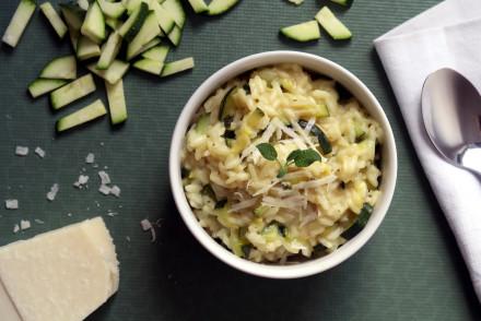 Zucchini-Risotto