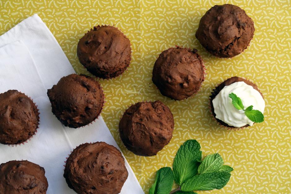 Saftige Schokoladen-Muffins