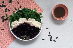 Rote Bete Rucola Salat