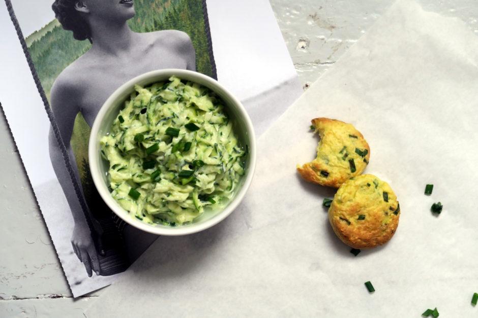 Schmackofatzlecker, der Zucchini-Joghurt-Dip