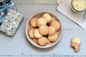 frisch gebackene Kokosmakronen