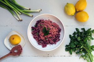glutenfreier Rote-Bete-Quinoa-Salat