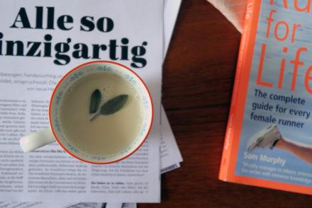 laktosefreie Salbei-Milch
