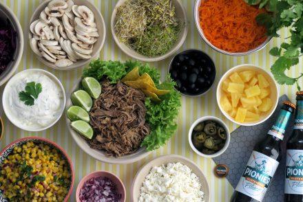 glutenfreies Pulled Pork mit Pilsener von Pionier