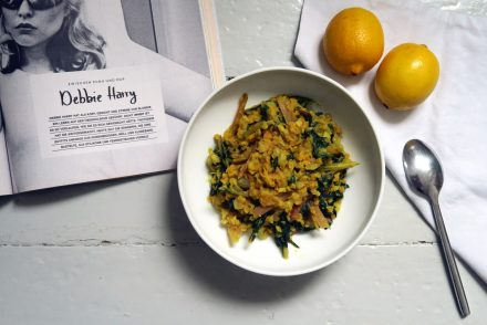 veganes Mangold-Linsen-Curry